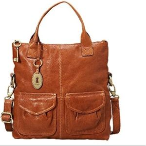 Fossil Cargo British Brown bag ZB4524